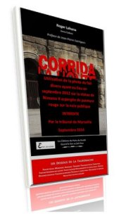 Corrida la honte interdiction couverture
