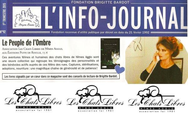 Chats libres Nimes Brigitte Bardot