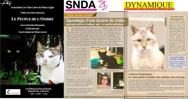 Chats libres Nîmes SNDA