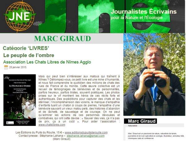 Marc Giraud Chats Libres Editions du Puits de Roulle