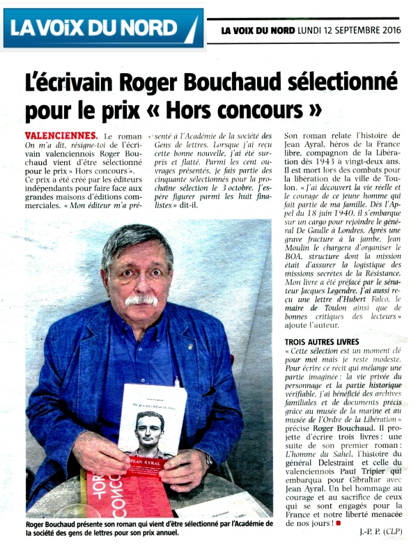 On m'a dit résigne-toi Jean Ayral Roger Bouchaud